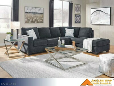 Altari Slate Stationary Sectional by Ashley (2 Piece Set)