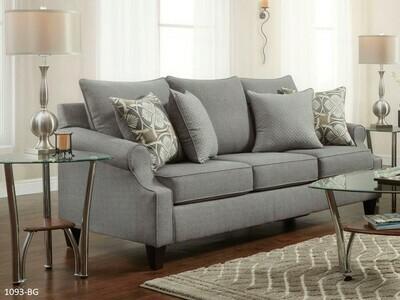 Bay Ridge Gray Stationary Sofa by Washington