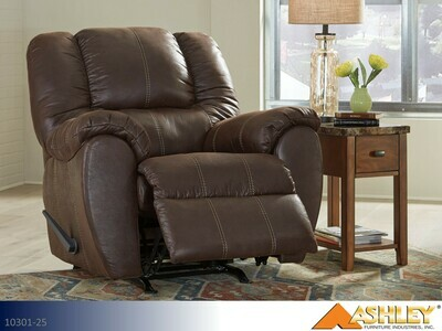 McGann Walnut Recliner by Ashley