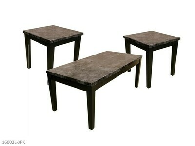 Brecci Faux Marble Occasional Table Set by AWF Imports (3 Piece Set)