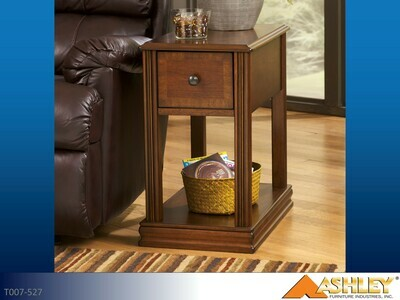 Breegin Brown Chairside Table by Ashley