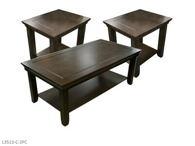 Jasper Gray Occasional Table Set by AWF Imports (3 Piece Set)