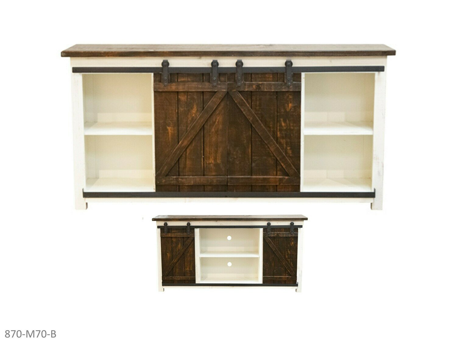 Barnwood TV Stand by AWF Imports (70