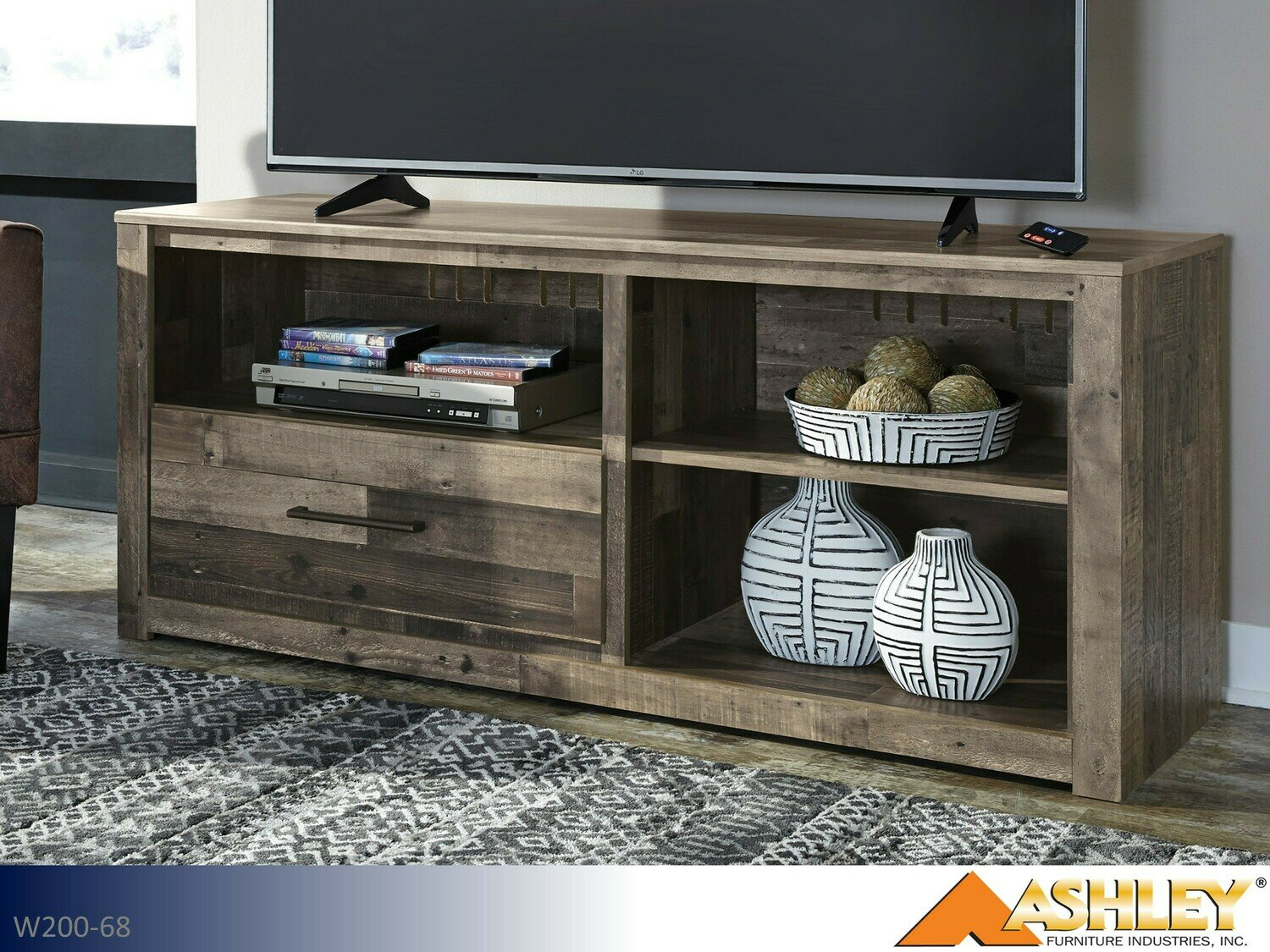 Derekson Multi Gray TV Stand by Ashley