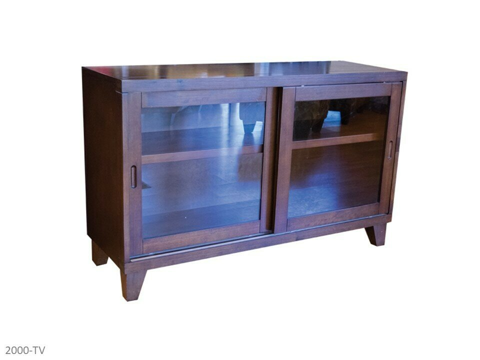 Walnut TV Stand by AWF Imports
