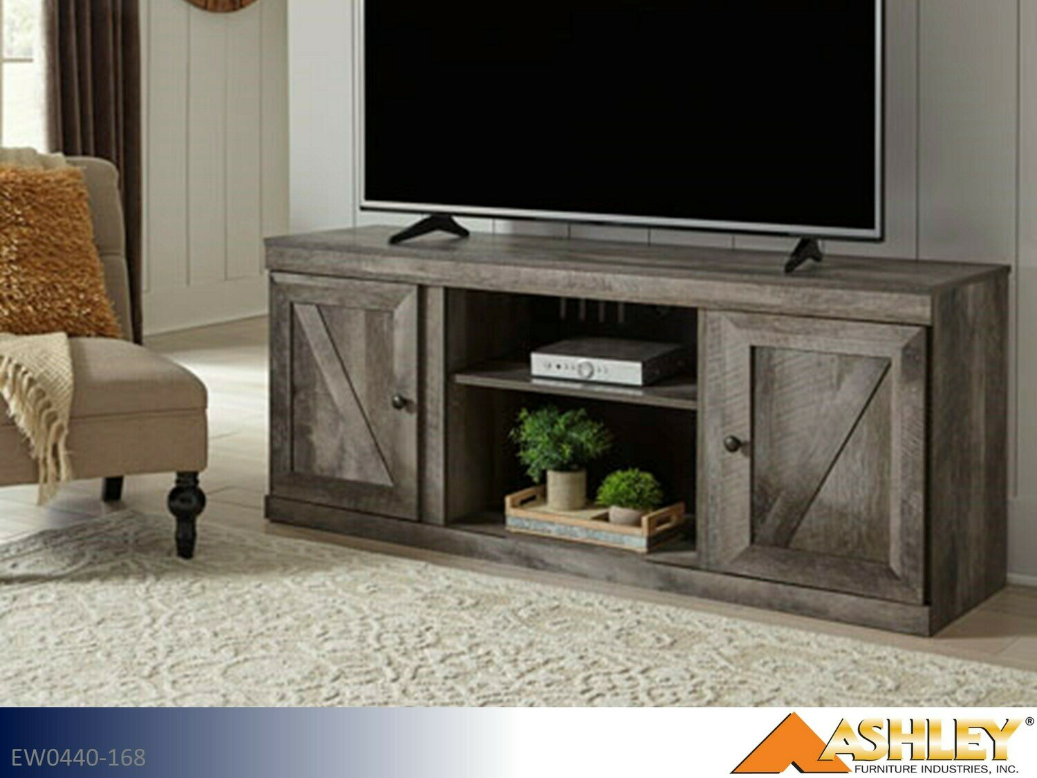 Wynnlow Gray TV Stand by Ashley