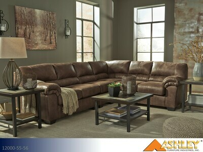 Bladen Coffee Stationary Sectional by Ashley (2 Piece Set)
