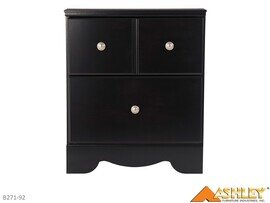 Shay Almost Black Nightstand by Ashley