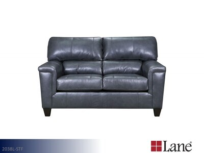 Soft Touch Fog Loveseat by Lane