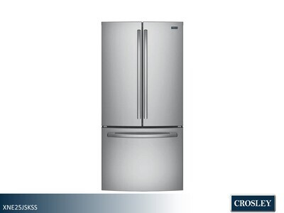 Stainless French Door Refrigerator by Crosley (24.8 Cu Ft)