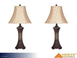 Mariana Bronze Lamps by Ashley (Pair)
