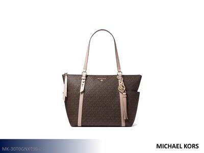 Sullivan Brown-Acorn Handbag by Michael Kors (Tote)