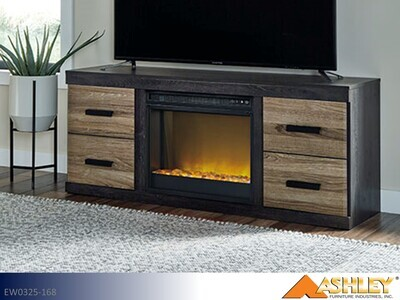 Harlinton Warm Gray TV Stand by Ashley