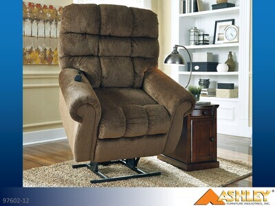 Ernestine Truffle Lift Chair by Ashley