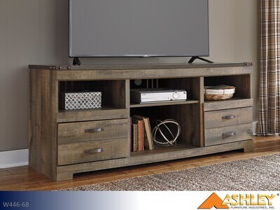 Trinell Brown TV Stand by Ashley (Large)