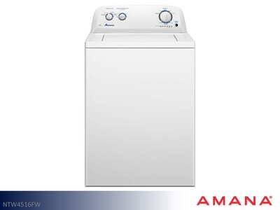 White Top Load Washer by Amana (3.5 Cu Ft)
