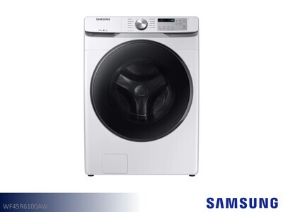 White Front Load Washer by Samsung Appliances (4.5 Cu Ft)
