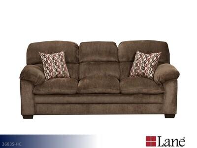 Harlow Chestnut Stationary Sofa by Lane