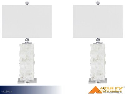 Malise Alabaster Lamps by Ashley (Pair)