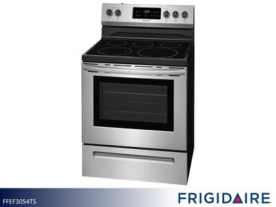 Stainless Electric Range by Frigidaire