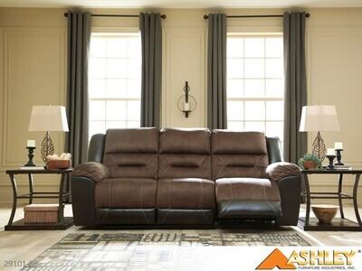 Earhart Chestnut Reclining Sofa by Ashley
