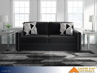 Gleston Onyx Stationary Sofa by Ashley
