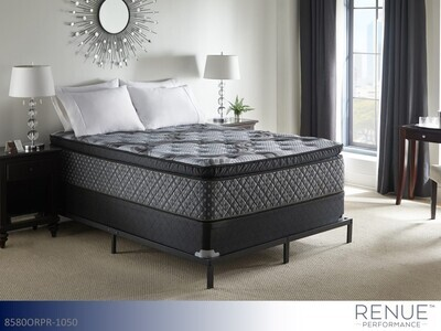 Energize Pillow Top Pocketed Coil Queen Mattress by Renue Performance (15.5