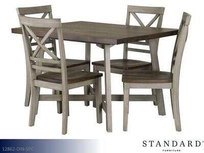 Fairhaven White 5 Pc Dining Set by Standard (5 Piece Set)