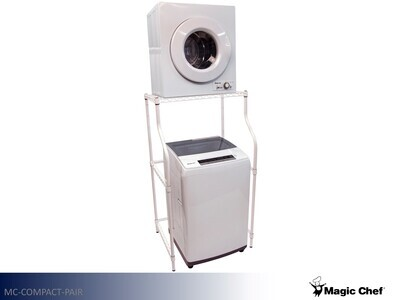 White Washer Dryer Set by Magic Chef (2.0 Cu Ft - 2.6 Cu Ft)