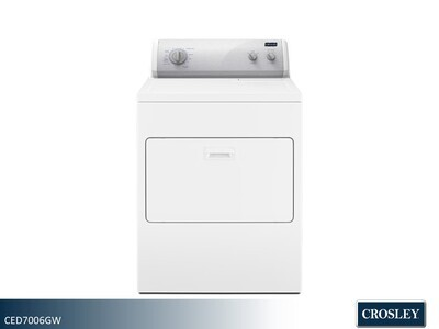 White Electric Dryer by Crosley (7.0 Cu Ft)