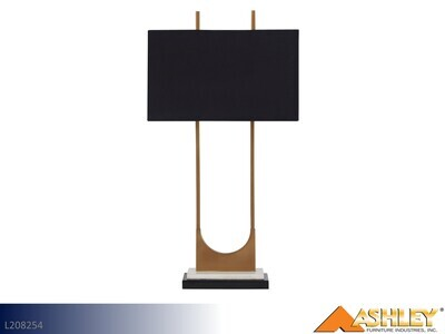 Malana Brass Lamps by Ashley