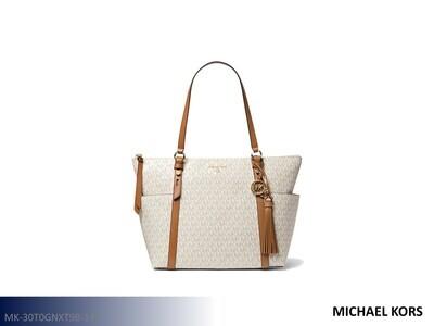 Sullivan Vanilla-Acorn Handbag by Michael Kors (Tote)