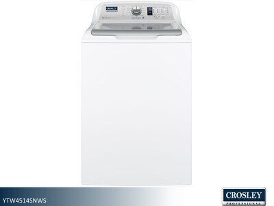 White Top Load Washer by Crosley Professional (4.5 Cu Ft)