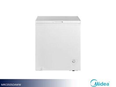 White 5 Cu Ft Chest Freezer by Midea (5 Cu Ft)