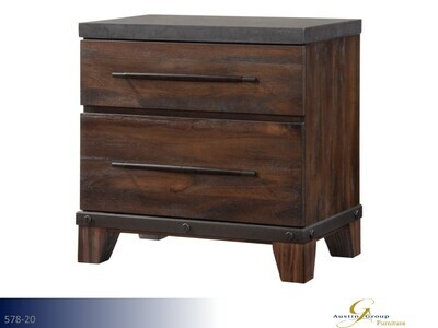 Forge Nightstand by Austin Group