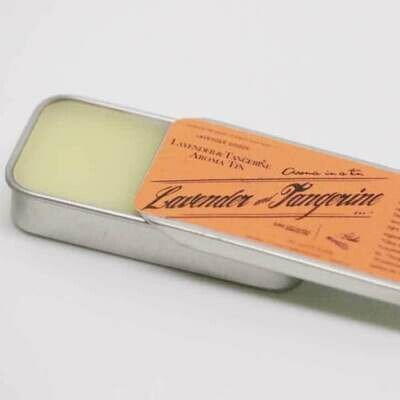 Aroma Tins-Lavender and Tangerine
