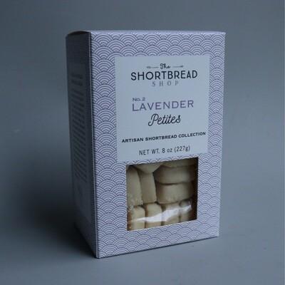 Lavender Shortbread Petites