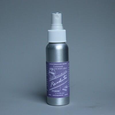 Lavender Room and Body Spray