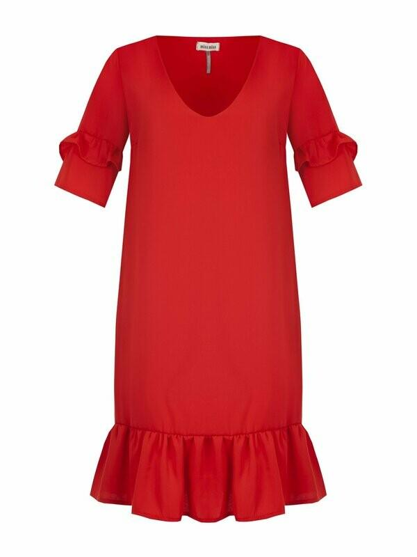 Vestito rosso Miss Miss