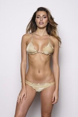 Bikini triangolo oro