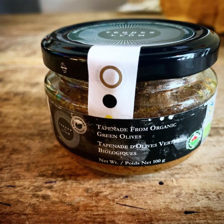Organic Terres De llum Olive Tapenade