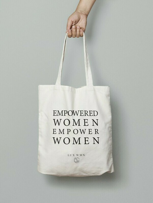 LUX WMN - Supporter (The Current Issue, Tote)