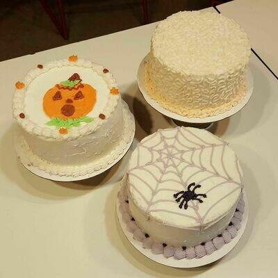 4 inch cake (3-4 ppl)