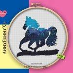 Horse Cross Stitch Pattern Pdf Silhouette