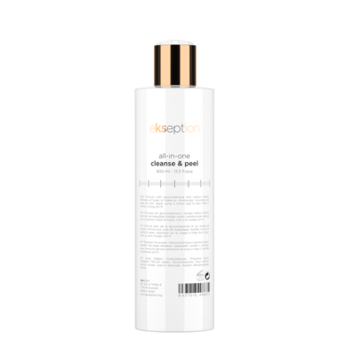 ALL IN ONE CLEANSE & PEEL 400ml