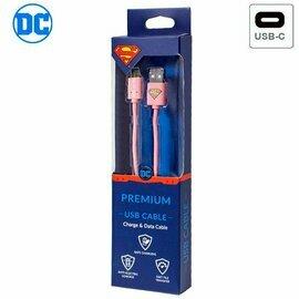 Cable USB Licencia DC Superman Universal Tipo C