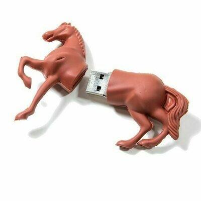 Pen Drive USB x32 GB Silicona Caballo
