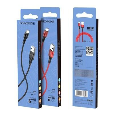 Cable Borofone Tipo-C (1m)