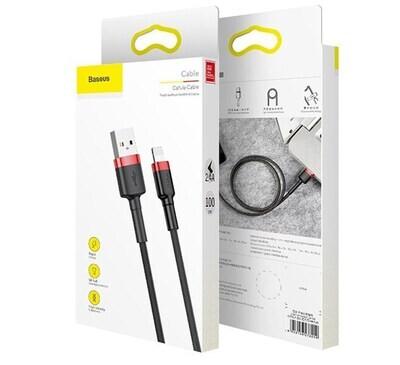 Cable de Carga Lightning Baseus (1m)