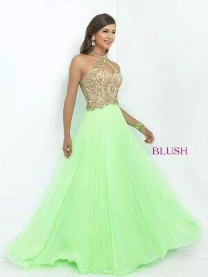 Blush Prom dress 11024 size 6